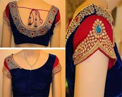 30 blouse designs for silk sarees