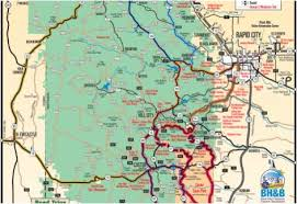 south dakota road map plan your trip black badlands south dakota