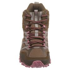 womens waterproof hiking boots sale merrell moab fst mid hiking boots for save 42