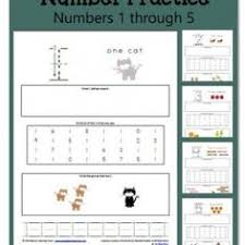 number practice worksheets 6 through 10 worksheets math and