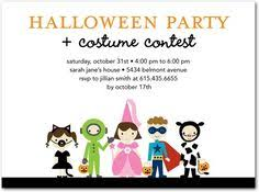 Halloween Costume Party Invitations Costume Party Children U0027s Birthday Party Invitations Jill Means