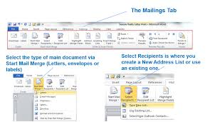 office 2013 mail merge mail merge main document archives office skills blog