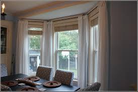 kirsch lockseam bay window double curtain rod curtains home
