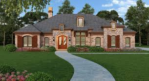 european style one story house plans homes zone