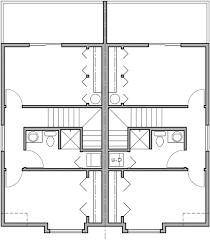 duplex floor plans for narrow lots narrow lot duplex house 16 ft wide units