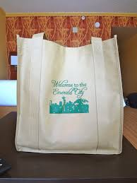 wedding hotel gift bags hardly the bomb hotel gift bag seattle edition