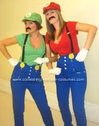 Mario Luigi Halloween Costume Thrifty Thursday Diy Halloween Costumes Girls U2013 C1st