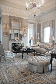 Parisian Living Room Decor Neoclassical Style Interiors To Make You Swoon Dove Grey Living
