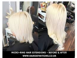 micro ring extensions remy micro ring hair extensions before and after hair