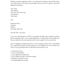 cover letter for article sample cover letter for high student with no work first job