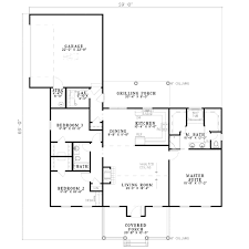 colonial style house plan 3 beds 2 00 baths 1683 sq ft plan 17 533