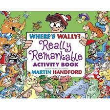 where s booktopia where s wally the really remarkable activity book by