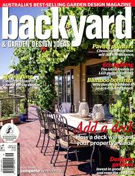 Ian Barker Garden Design In Backyard  Garden Design Ideas Magazine - Backyard and garden design ideas magazine