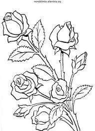 fiori disegni vari tipi di fiori da colorare mondo bimbo
