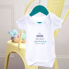 my personalised baby grow by the handcrafted