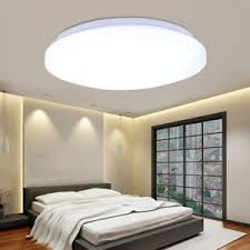 Flush Ceiling Lights For Bedroom 24w Led Ceiling Light Flush Mount Fixture Lighting Bedroom Kitchen