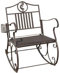 Metal Patio Rocking Chairs Black Metal Rocking Chair 123 Metal Rocking Chair Wmu Metal