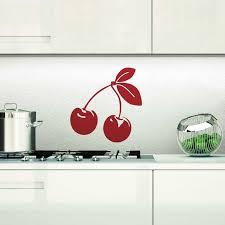 stickers pour cuisine sticker cerise pour cuisine en vente sur sticker s studio