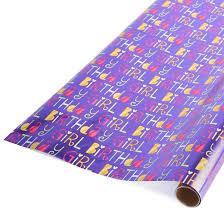 purple gift wrap birthday girl purple gift wrap spritz target