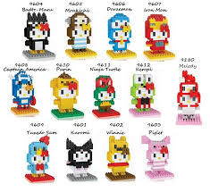 loz diamond blocks qoo10 preorder hello in costumes building blocks loz