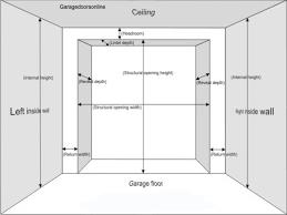 Standard Height Of Interior Door Standard Width Of Garage Door Two Car Panels Purobrand Co