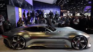 mercedes gran turismo mercedes amg vision gran turismo concept is low wide w