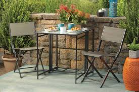 Outdoor Furniture Small Space by 5 Small Patio Dining Sets For The City Dweller