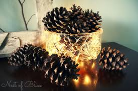 Decorating Pine Cones With Glitter Top 10 Best Diy Christmas Decorations With Pinecones Top Inspired