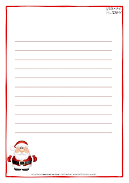 free printable writing paper to santa cute letter templates etame mibawa co