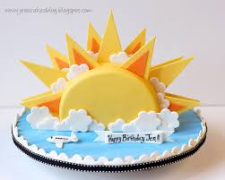 sunshine cake jessica harris cake design