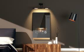fred one touch smart home mirror gadget flow