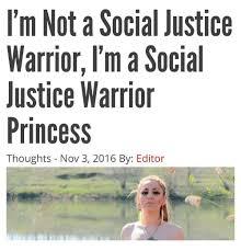 Social Justice Warrior Meme - i m not a social justice warrior i m a social justice warrior