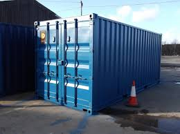 20ft storage container conversion for offshore use