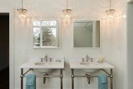 Chandelier Bathroom Lighting Charming Mini Chandelier For Bathroom With Small Chandelier For