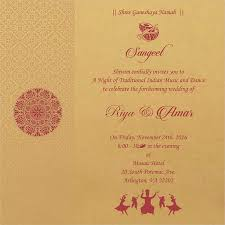 ceremony cards for weddings wedding invitation wording for sangeet ceremony sangeet ceremony