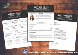 Microsoft Word 2010 Resume Template Resume Cv Template Cover Letter For Ms Word Creative Resume