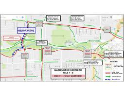 Dallas Galleria Map Street Closures Chevron Houston Marathon