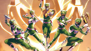 power rangers comic series totally crazy