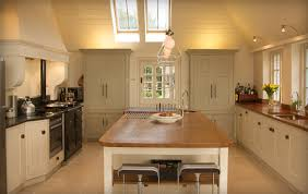 kitchen central island iroko centre island with end grain food prep area and sink for the