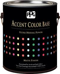 accent color base paint from ppg porter paints