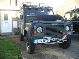 military land rover 110 ex military police defender 90 lhd appy wanderers