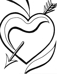 heart coloring pages 3 coloring kids