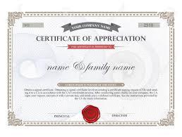 doc35082480 free certificate border templates fake document