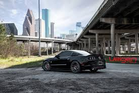 Ford Mustang Gt Black Ford Mustang Gt 5 0 On Velgen Wheels Vmb5 Gloss Black Please