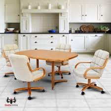 kitchen table with caster chairs caster dinette sets dining table set with swivel caster dinette chairs