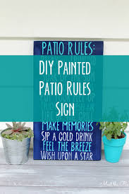 bar furniture outdoor patio signs customized porch deck patio