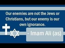 imam ali a s about christians and jews