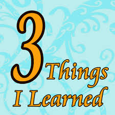 have a good thanksgiving 3 things i learned