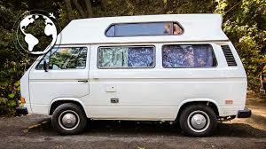future volkswagen van millionaire gives money away and lives in vw van youtube