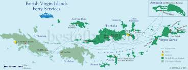 map of the bvi map of bvi ferry routes best of bvi boats